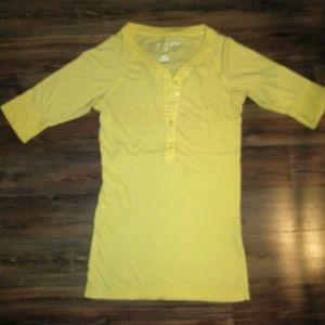 5/25$ Aero yellow 3/4sleeve Tee